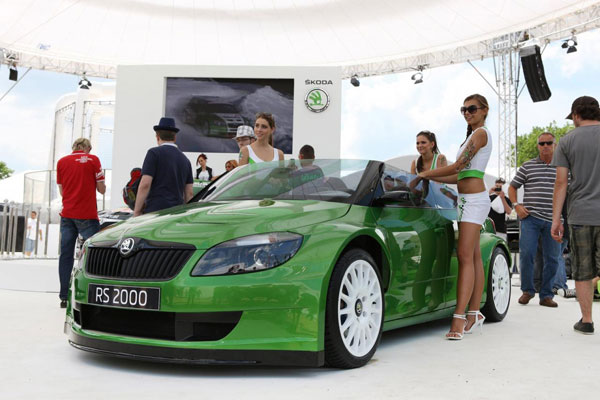 Skoda Fabia RS 2000 descapotable