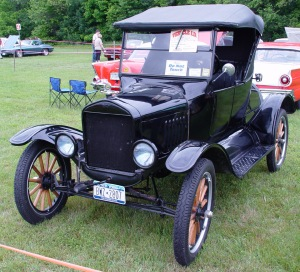 Ford Model T. 1924