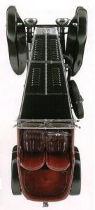 Frazer Nash TT Replica. Vista aérea.