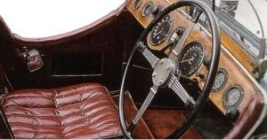 Frazer Nash TT Replica. Salpicadero