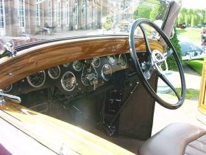 Hispano-Suiza H6B Salpicadero