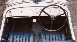 BMW 328. Interior