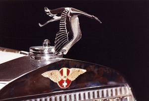Cigüeña plateada. Hispano-Suiza