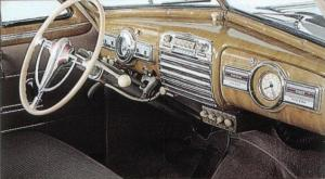 Pontiac Torpedo Eight. Interior