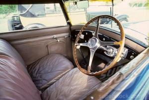 Bugatti Royale. Interior