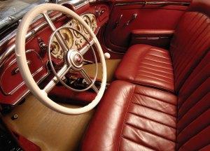 Mercedes 540K. Interior