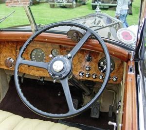 Rolls-Royce Phantom III. Interior
