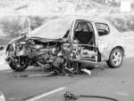 El 82% de los accidentes de coche se producen por una mala decisión alvolante