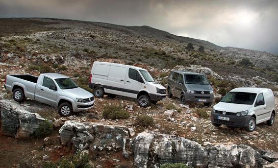 Vehículos profesionales Volkswagen