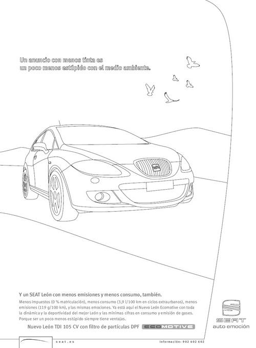 Publicidad de coche SEAT