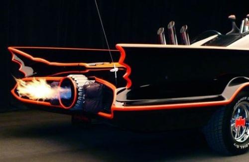Primer Batmobile subastado