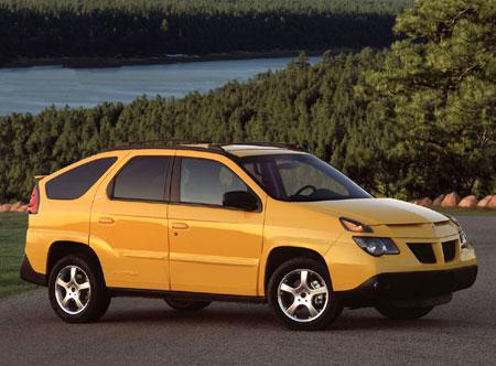 Los coches más feos de la historia: Pontiac Aztek