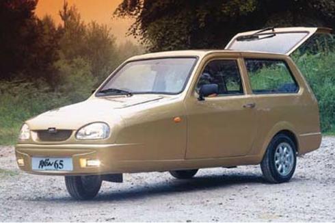 Los coches más feos de la historia: Reliant Robin